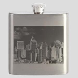 new york metallic Flask
