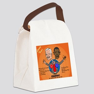 Political Looney Tunes Canvas Lunch Bag