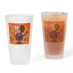 Political Looney Tunes Drinking Glass