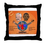 Political Looney Tunes Throw Pillow