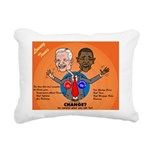 Political Looney Tunes Rectangular Canvas Pillow