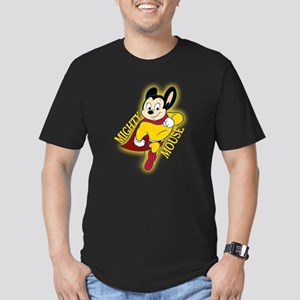 Mighty Mouse Men's Fitted T-Shirt (dark)