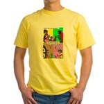 Bug Mothers Day Presents Yellow T-Shirt