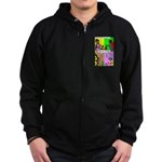 Bug Mothers Day Presents Zip Hoodie (dark)