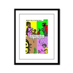 Bug Mothers Day Presents Framed Panel Print