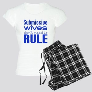 Wives Rule BLUE Pajamas