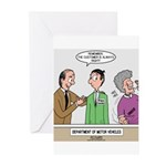 DMV Trainee Greeting Cards (Pk of 20)