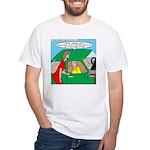 Mailman Syndrome White T-Shirt