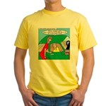 Mailman Syndrome Yellow T-Shirt