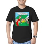 Mailman Syndrome Men's Fitted T-Shirt (dark)