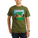 Mailman Syndrome Organic Men's T-Shirt (dark)
