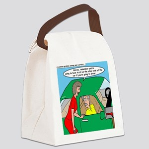 Mailman Syndrome Canvas Lunch Bag