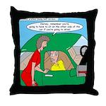 Mailman Syndrome Throw Pillow