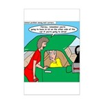 Mailman Syndrome Mini Poster Print