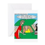 Mailman Syndrome Greeting Card