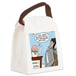 Golf Divot Sin Canvas Lunch Bag