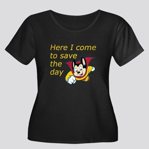 Mighty Mouse Save the Day Women's Plus Size Scoop