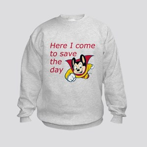 Mighty Mouse Save the Day Kids Sweatshirt