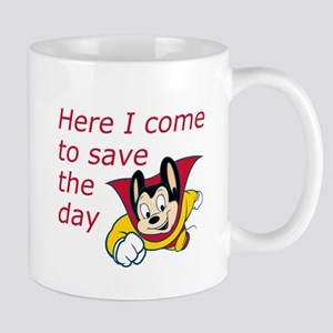 Mighty Mouse Save the Day Mug