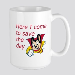 Mighty Mouse Save the Day Large Mug
