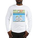 The Joys of Fish Food Long Sleeve T-Shirt