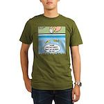The Joys of Fish Food Organic Men's T-Shirt (dark)