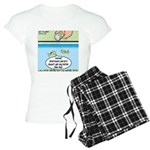 The Joys of Fish Food Women's Light Pajamas