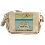 The Joys of Fish Food Messenger Bag