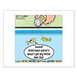 The Joys of Fish Food Small Poster