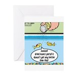 The Joys of Fish Food Greeting Cards (Pk of 10)