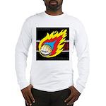 Blazing Volleyball Long Sleeve T-Shirt