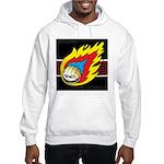 Blazing Volleyball Hooded Sweatshirt