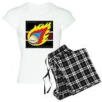 Blazing Volleyball Women's Light Pajamas