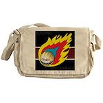 Blazing Volleyball Messenger Bag