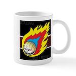 Blazing Volleyball Mug
