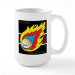 Blazing Volleyball Large Mug