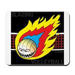 Blazing Volleyball Mousepad