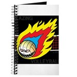 Blazing Volleyball Journal