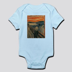 The Scream (Textured) by Edvard Munch Body Suit