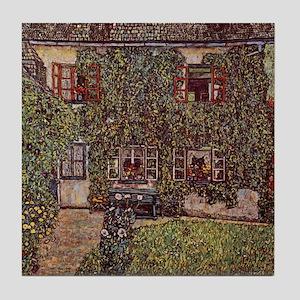 Gustav Klimt Ceramic Art Tile House Guardaboschi