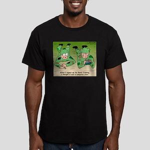 Basic Training Men's Fitted T-Shirt (dark)