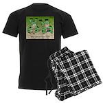 Basic Training Men's Dark Pajamas
