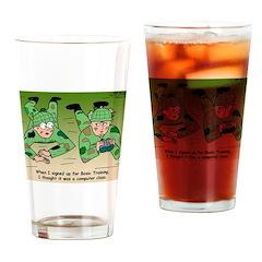 Basic Training Drinking Glass