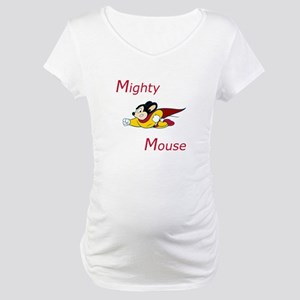 Mighty Mouse Maternity T-Shirt
