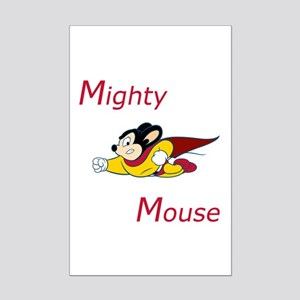 Mighty Mouse Mini Poster Print