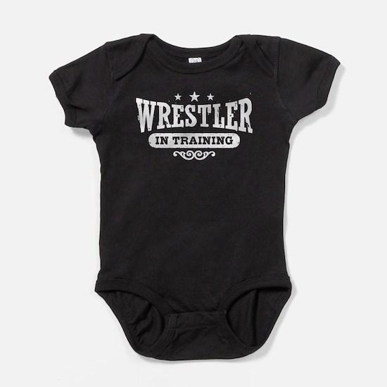 Wrestler In Training Baby Bodysuit