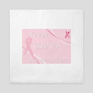 Breast Cancer Awareness Queen Duvet