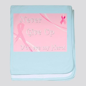 Breast Cancer Awareness baby blanket