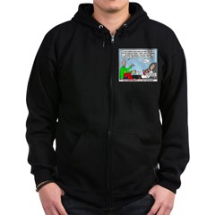 Keeping Up Zip Hoodie (dark)