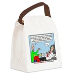 Keeping Up Canvas Lunch Bag
